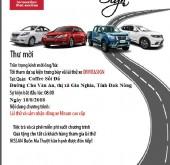 Chương trình lái thử xe Nissan tại Gia Nghĩa ngày 18/08/2018