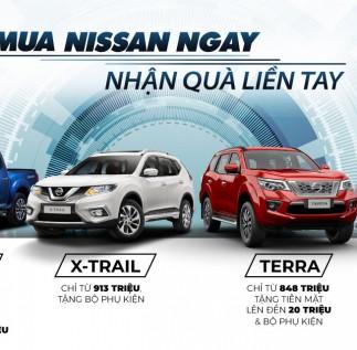 Chương trình ưu đãi dành cho khách hàng mua xe Nissan trong tháng 09/2020